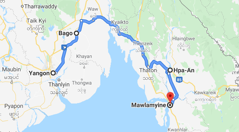 Myanmar roadtrip